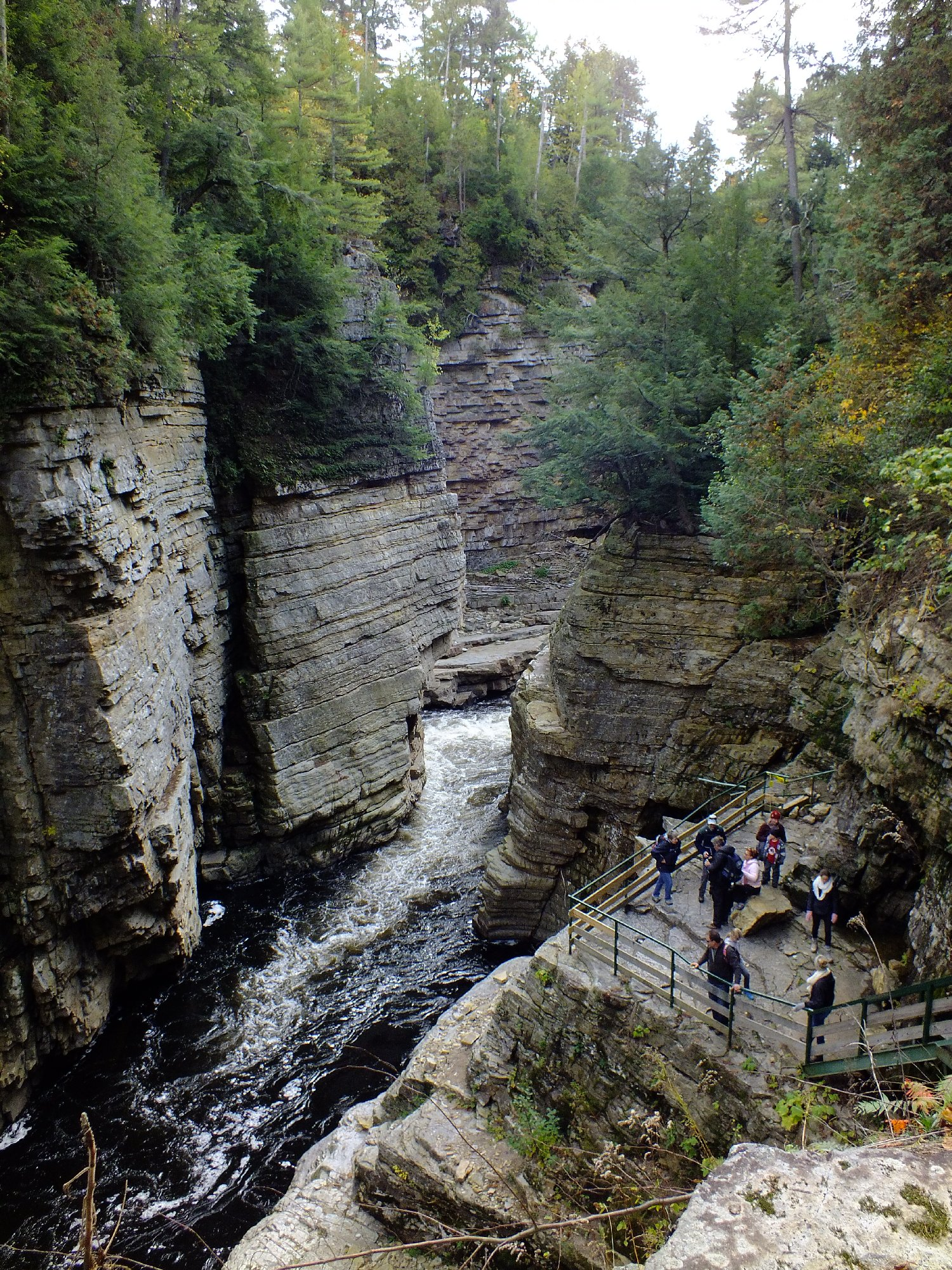 Hike In The Ausable Chasm