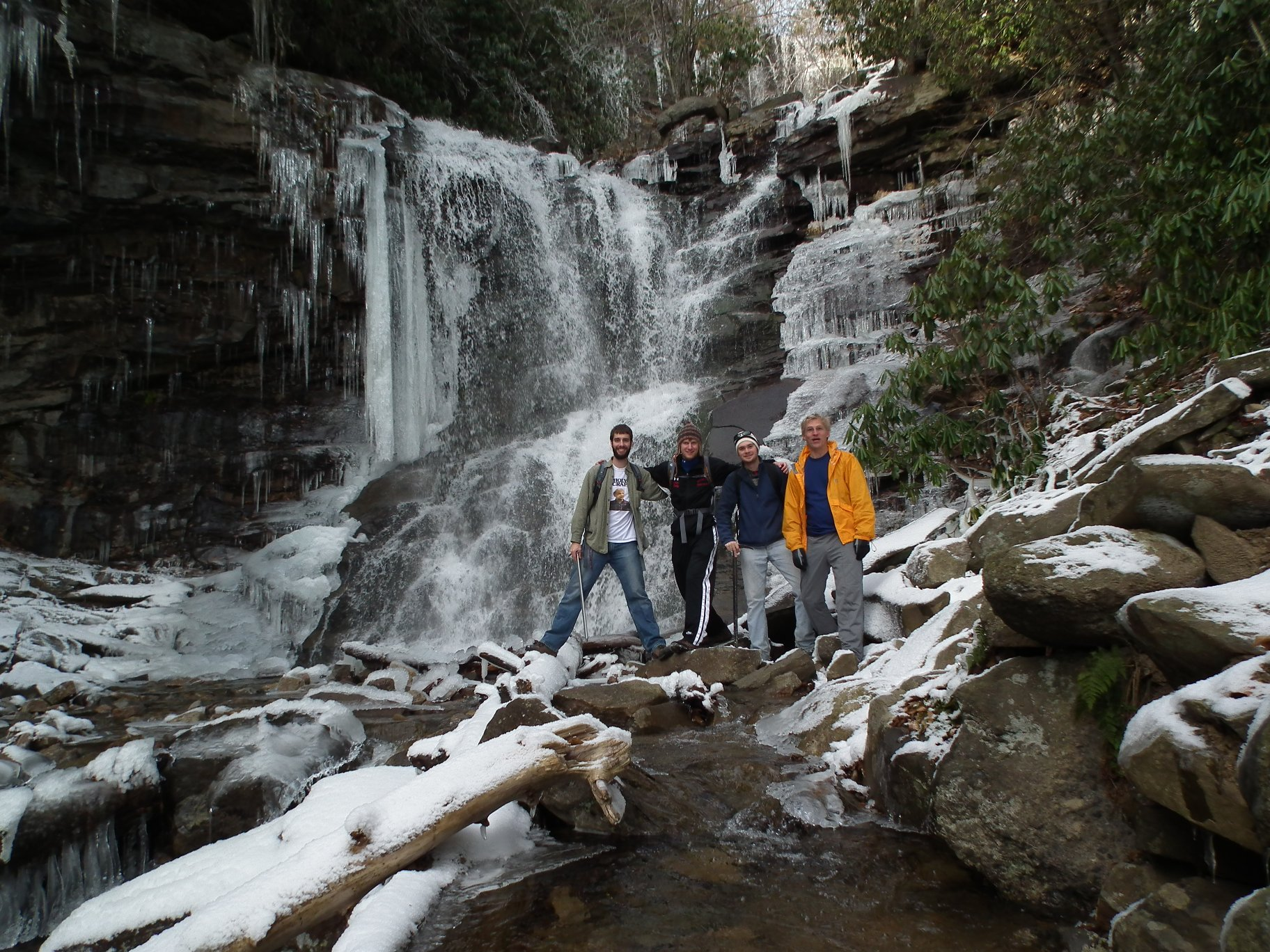 Outdoors Society December 2010 Glen Onoko